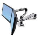 Ergotron ERG45245026 Lx Dual Side-By-Side Arm For Workfit-D Sit-Stand Desk