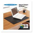 Es Robbins ESR120797 Natural Origins Desk Pad, 38 X 24, Matte, Black