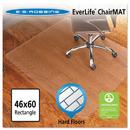 Es Robbins ESR131826 46x60 Rectangle Chair Mat, Economy Series For Hard Floors