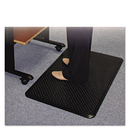ES Robbins ESR184552 Feel Good Anti-Fatigue Floor Mat, 36 X 24, Pvc, Black