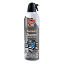 FALCON SAFETY FALDPSJMB2 Disposable Compressed Gas Duster, 17 Oz Cans, 2/pack