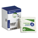First Aid Only FAE-4014 Refill f/SmartCompliance General Business Cabinet, Castile Soap Wipes, 5x7, 10/Bx