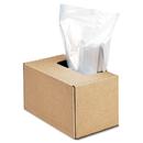 Fellowes FEL3604101 Shredder Waste Bags, 50 Gal Capacity, 50/ct