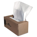 Fellowes FEL36056 Shredder Waste Bags, 25 Gal Capacity, 50/ct