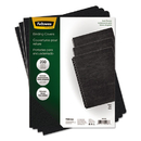 FELLOWES MANUFACTURING FEL52138 Classic Grain Texture Binding System Covers, 11-1/4 X 8-3/4, Black, 200/pack