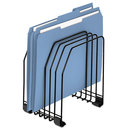 FELLOWES MANUFACTURING FEL68112 Wire File Organizer, 7 Comp, Steel, 7 3/8 X 5 7/8 X 8 1/4, Black