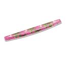 Fellowes FEL9179101 Gel Keyboard Wrist Rest W/microban Protection, 18 9/16 X 2 5/16, Pink Flowers