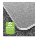 Floortex ECM121525ER Cleartex MegaMat Heavy-Duty Polycarbonate Mat for Hard Floor/All Carpet, 46 x 60, Clear