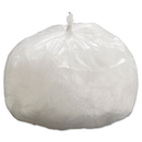 General Supply GEN333912 Hi-Density Can Liners, 33 X 39, 9mic, Natural, 25 Bags/roll, 20 Rolls/ct