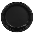 Genpak GNPBLK09 Silhouette Plastic Plates, 9