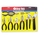 GREAT NECK SAW MFG. GNS87900 8-Piece Steel Pliers And Wrench Tool Set