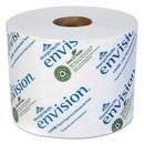 Georgia Pacific Professional 14448/01 Envision High-Capacity Standard Bath Tissue, Septic Safe, 1-Ply, White, 1500/Roll, 48/Carton