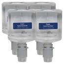 Georgia Pacific Professional GPC43335 Pacific Blue Ultra Foam Hand Sanitizer Refill For Manual Dispensers, Fragrance-Free, 1,000 mL, 4/Carton