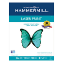 HAMMERMILL/HP EVERYDAY PAPERS HAM104646 Laser Print Office Paper, 98 Brightness, 32lb, 8-1/2 X 11, White, 500 Sheets/rm