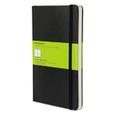 Moleskine HBGMBL17 Hard Cover Notebook, Plain, 8 1/4 X 5, Black Cover, 192 Sheets