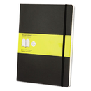 Moleskine HBGMSX15 Classic Softcover Notebook, Squared, 10 X 7 1/2, Black Cover, 192 Sheets