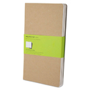 Moleskine HBGQP418 Cahier Journal, Plain, 8 1/4 X 5, Kraft Brown Cover, 80 Sheets