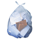 Heritage HERH7658SC Low-Density Can Liners, 60 Gal, 1.1 Mil, 38 X 58, Clear, 100/carton