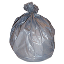Heritage HERH7846WS Low-Density Can Liners, 40-45 Gal, 1.7 Mil, 39 X 46, Silver, 50/carton
