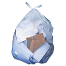 Heritage HERH8647SC Low-Density Can Liners, 56 Gal, 1.1 Mil, 43 X 47, Clear, 100/carton