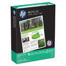 HAMMERMILL/HP EVERYDAY PAPERS HEW112100 Office Recycled Paper, 92 Brightness, 20lb, 8-1/2 X 11, White, 5000 Shts/ctn