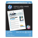 HAMMERMILL/HP EVERYDAY PAPERS HEW112101 Office Ultra-White Paper, 92 Bright, 20lb, 8-1/2 X 11, 500/ream, 10/carton