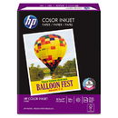 HAMMERMILL/HP EVERYDAY PAPERS HEW202000 Color Inkjet Paper, 96 Brightness, 24lb, 8-1/2 X 11, White, 500 Sheets/ream