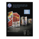 HEWLETT PACKARD SUPPLIES HEWQ6612A Tri-Fold Laser Brochure Paper, 97 Brightness, 40lb, 8-1/2 X 11, White, 150 /pack