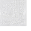 Hoffmaster HFM601SE1014 Classic Embossed Straight Edge Placemats, 10 X 14, White, 1000/carton