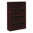 HON COMPANY HON105534NN 10500 Series Laminate Bookcase, Four-Shelf, 36w X 13-1/8d X 57-1/8h, Mahogany