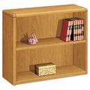 Hon HON10752CC 10700 Series Wood Bookcase, Two Shelf, 36w X 13 1/8d X 29 5/8h, Harvest