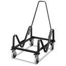 Hon HON4033T Gueststacker Cart, 21-3/8 X 35-1/2 X 37-7/8, Black