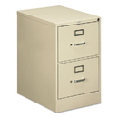 HON COMPANY HON512CPL 510 Series Two-Drawer, Full-Suspension File, Legal, 29h X25d, Putty