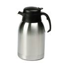 Hormel HORSVC190 Stainless Steel Lined Vacuum Carafe, 1.9l, Satin Finish/black Trim