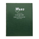 THE HUBBARD COMPANY HUB91016 Combination Record & Plan Book, 9-10 Weeks, 6 Periods/day, 11 X 8-1/2