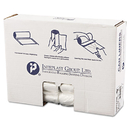 Inteplast Group IBSS303710N High-Density Can Liner, 30 X 37, 30gal, 10mic, Clear, 25/roll, 20 Rolls/carton