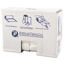Inteplast Group IBSS303716N High-Density Can Liner, 30 X 37, 30gal, 16mic, Clear, 25/roll, 20 Rolls/carton