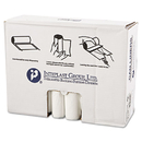 Inteplast Group IBSS334013N High-Density Can Liner, 33 X 40, 33gal, 13mic, Clear, 25/roll, 20 Rolls/carton