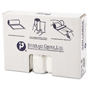 Inteplast Group IBSS334016N High-Density Can Liner, 33 X 40, 33gal, 16mic, Clear, 25/roll, 10 Rolls/carton