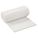 Inteplast Group IBSSL2432XHW Low-Density Can Liner, 24 X 32, 16gal, .5mil, White, 50/roll, 10 Rolls/carton