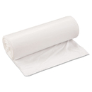 Inteplast Group IBSSL3339XHW Low-Density Can Liner, 33 X 39, 33gal, .8mil, White, 25/roll, 6 Rolls/carton