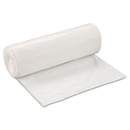 Inteplast Group IBSSL3858XHW2 Low-Density Can Liner, 38 X 58, 60gal, .7mil, White, 25/roll, 4 Rolls/carton