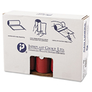 Inteplast Group IBSSL4046R Low-Density Can Liner, 40 X 46, 45gal, 1.3mil, Red, 20/roll, 5 Rolls/carton