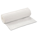 Inteplast Group IBSSL4046XHW Low-Density Can Liner, 40 X 46, 45gal, .8mil, White, 25/roll, 4 Rolls/carton