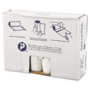 Inteplast Group IBSVALH4048N12 High-Density Can Liner, 40 X 46, 45gal, 12mic, Clear, 25/roll, 10 Rolls/carton