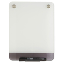 Iceberg ICE31110 Clarity Glass Personal Dry Erase Boards, Ultra-White Backing, 9 X 12