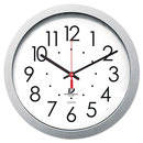 CHICAGO LIGHTHOUSE FOR THE BLIND ILC67818003 Quartz Flat Rim Clock, 14-1/2