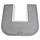 Fresh Products IMP 1550 Disposable Toilet Floor Mat, Nonslip, Orchard Zing Scent, 23 x 21-5/8, Gray, 6/Carton