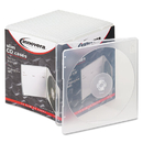 INNOVERA IVR81900 Slim Cd Case, Clear, 25/pack