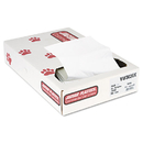 UNISAN JAGVW3036X Industrial Strength Commercial Can Liners, 20-30gal, .7mil, White, 200/carton